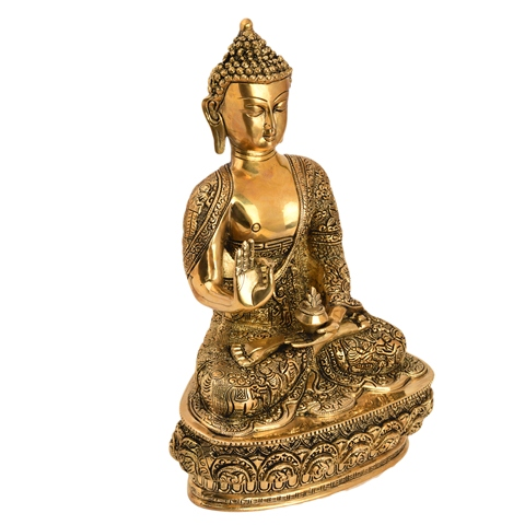Carving Work Story Buddha Statue