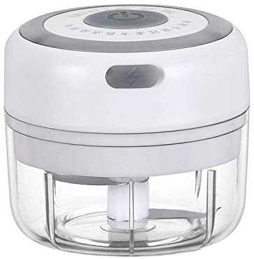Mini Electric Food Chopper Compact, Powerful Cordless Electric Vegetable Chopper/Blender to Chop Fruits/Vegetables/Garlic/Meats/Onion for Salsa/Salad/Pesto/Coleslaw for Kitchen Gadgets (100ML)